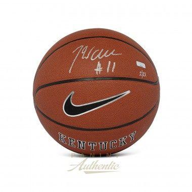 John Wall Autographed Nike University of Kentucky Replica Basketball PANINI LE 22 - Game Day Legends