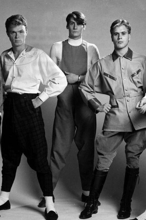 Gary Kemp, Tony Hadley and Steve Norman of Spandau Ballet, c.1981