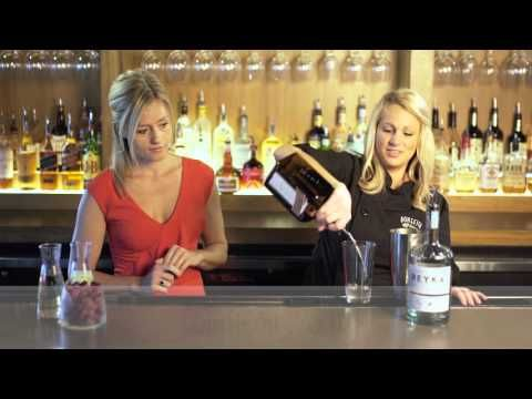 Recipe for Bonefish Grill Winter White Cosmo Cocktail  - YouTube