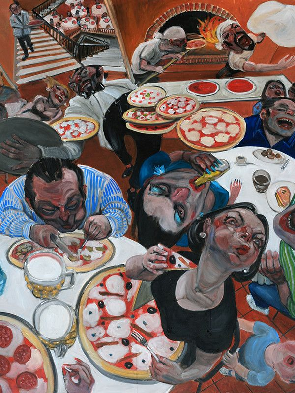 Enrico Robusti - La Buca dei Diavoli | Mark Ransom = The Whole of the Devil Restaurant