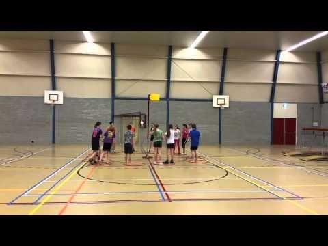 Basketballoopspel - leukste gymles - YouTube