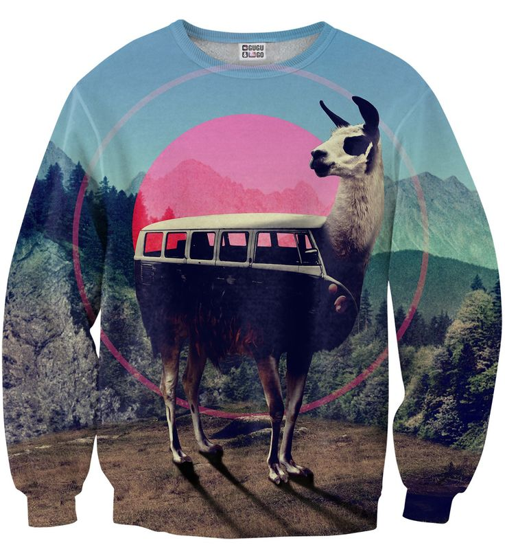 Volkswagen Lama sweater, Mr. GUGU & Miss GO