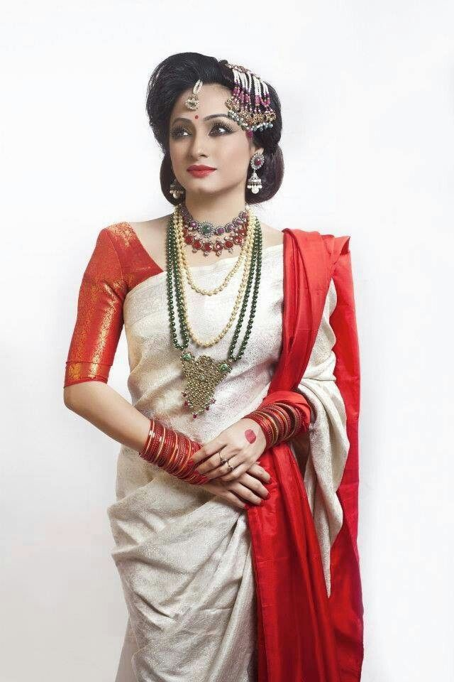 Simple Ai Buro Baat look in Bangladesh #Bengali bride#Sujana Khan model
