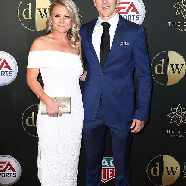 On Monday @hair_by_phd  were lucky enough to be styling at the FFA Dolan Warren Awards held at The Star Casino, Sydney. An awesome experience to work alongside  @donnygalella @inglot_australia and @schwarzkopfproanz .  .  .  The lovely Amanda McKay and husband Matt McKay.     #hairbyphd #ffa #dolanwarrenawards #dolanwarren #socceraustralia #donnygalella #themorningshow #picof...