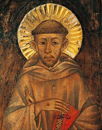 Die römisch-katholische Kirche sprach Franz von Assisi im Jahr 1228 zum Heiligen (Foto von: De Agostini/Getty Images )