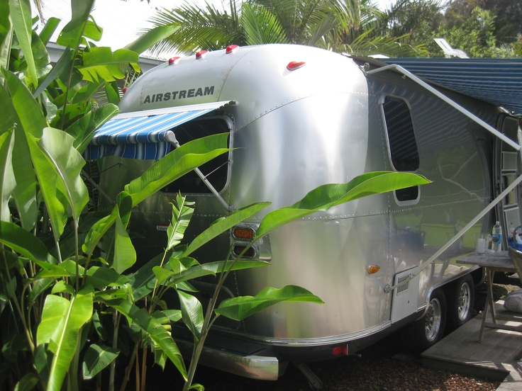 The Airstream - otherwise known as 'Angie's Place' (when she visits Byron Bay) @ Atlantic Guest Houses.  BYO McDreamy tho!