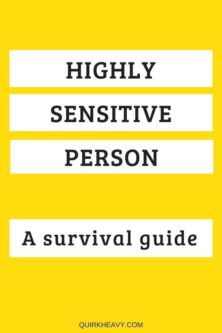 Traits of highly sensitive people