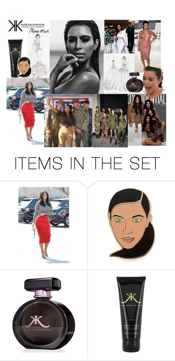 """Famous stars#3 Kim Kardashian"" by oliviamur ❤ liked on Polyvore featuring art, stars, FAmous, kimkardashian, goldkardashian and botty"