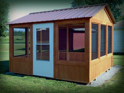 Personalize Your Own Backyard Screenhouse!