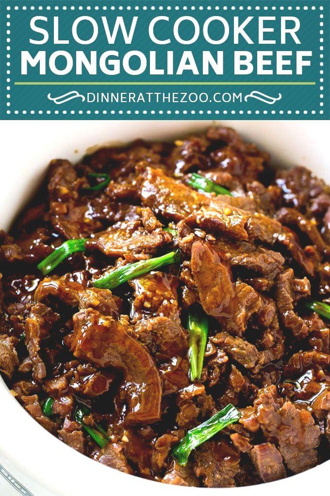 Easy Crispy Mongolian Beef Recipe Recipe Slow Cooker Mongolian Beef Recipe Crockpot Recipes Slow Cooker Crockpot Recipes Beef