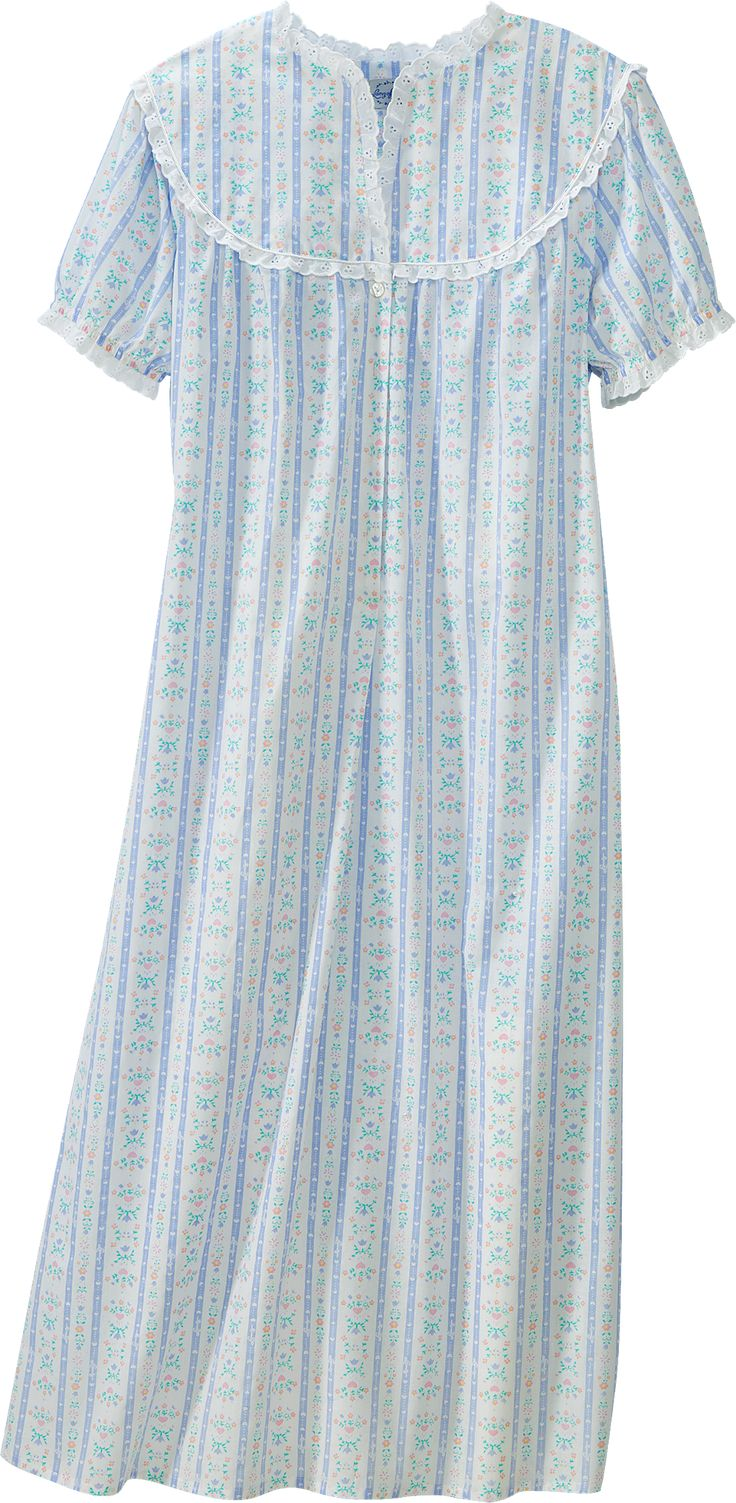 Lanz Tyrolean Cotton Lawn Nightgown Clothes I ️ In 2019
