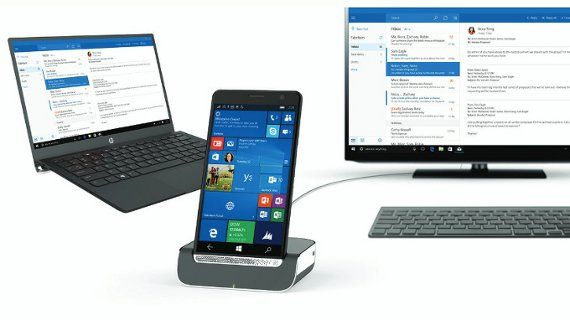 HP (ヒューレット・パッカード)は、Windows 10 Mobile搭載の5.96インチのファブレット(phablet)を発表しました。ハイスペックな6インチのファブレット「HP Elite x3」HP Elite x3 は、5.96イ
