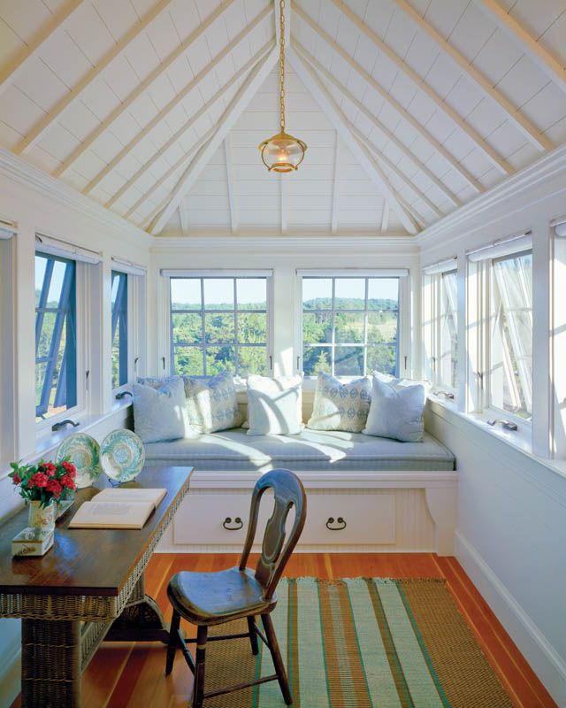 682 best images about coastal rooms by the sea on for House plans with sleeping porch