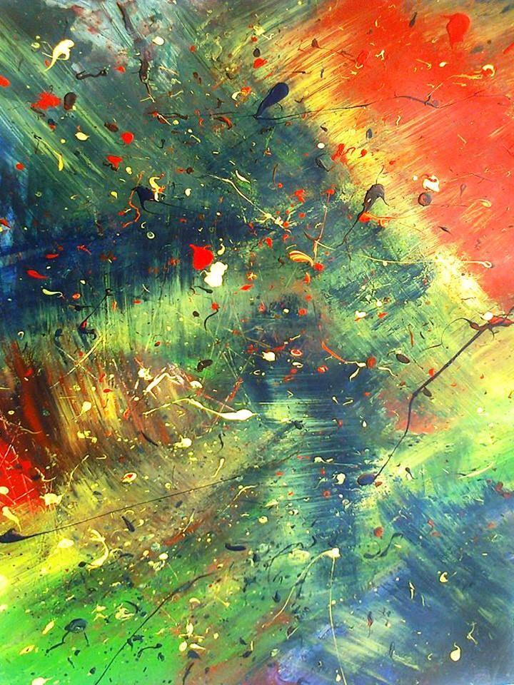 Lovely piece by Georgia-jo Dritsakou Art. An Urban Art District favorite! www.UrbanArtDistrict.com www.facebook.com/UrbanArtDistrict