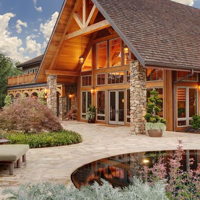 Log House - the only rustic styled house i could get behind.
