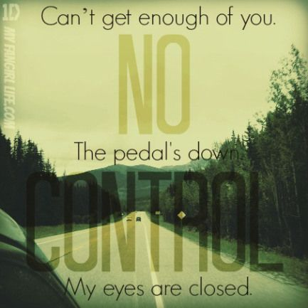 One Direction Four Lyrics - No Control