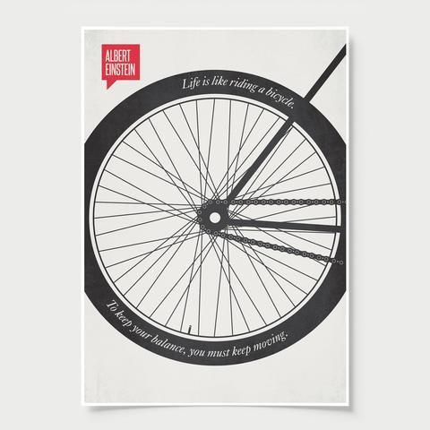 Rumi Minimalist Poster Quote Albert Einstein Minimalist Poster Quote Bicycle