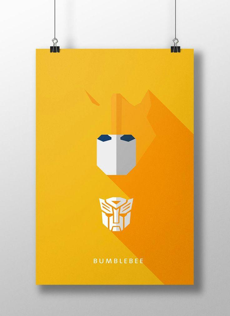 """Bumblebee, é o nome de um personagem fictício presente em várias versões dos Transformers (robôs alienígenas capazes de se transformar em veículos, armas e máquinas diversas), seja em desenhos animados, quadrinhos, banda desenhada, filmes, etc. """"Para saber mais clique na imagem"""""""