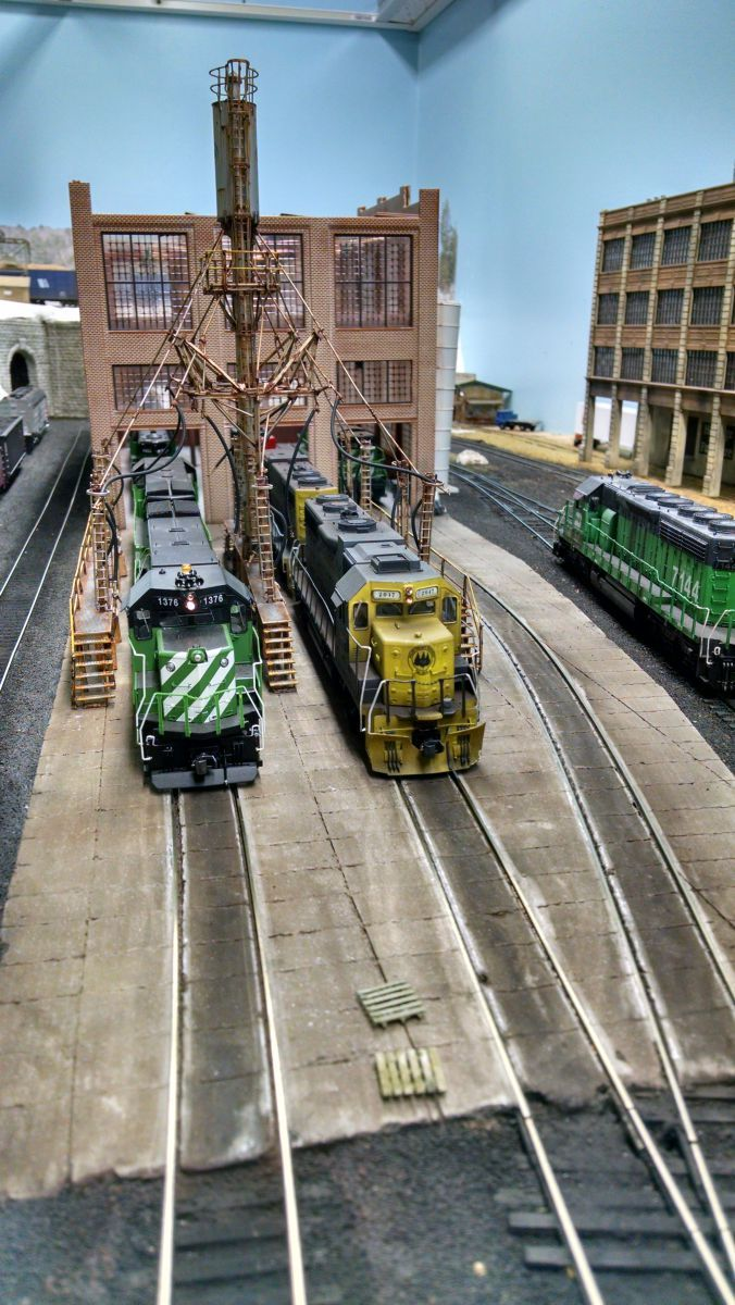 108 best model trains images on pinterest model trains scenery