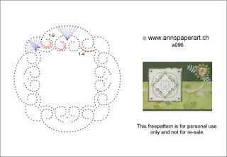 Anns Paper Art: Freepattern a096