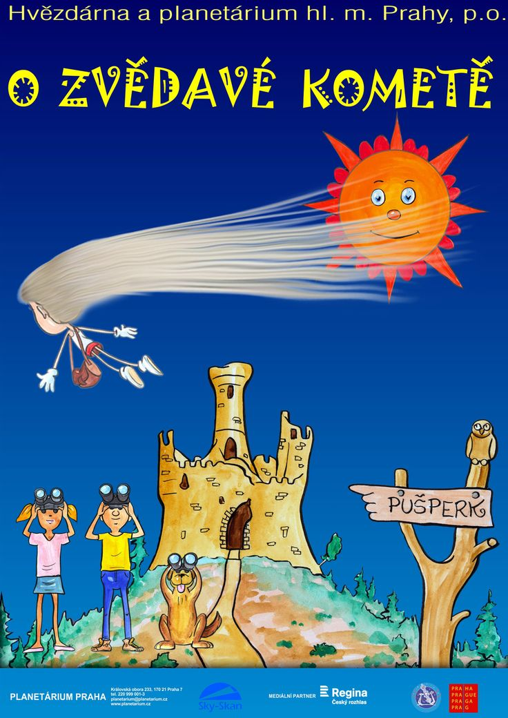 Planetárium Praha : » O zvědavé kometě