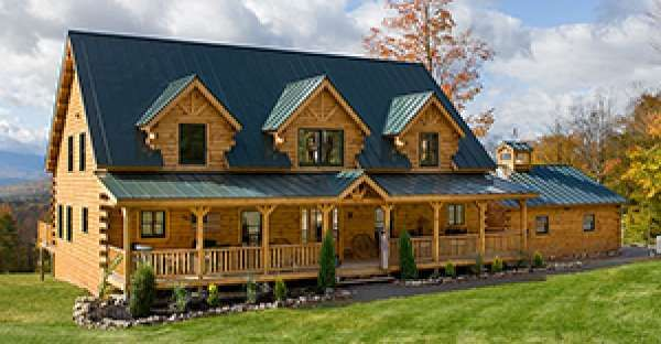 Just $125,000 for the DIY'er, this is a Log Cabin Home that Looks Even Better INSIDE