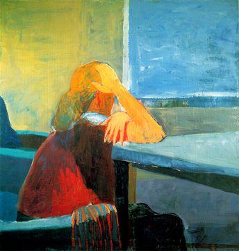 Richard Diebenkorn: Woman at a Window, 1957