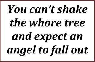 Whore Tree...... =) Ain't that the truth LOL