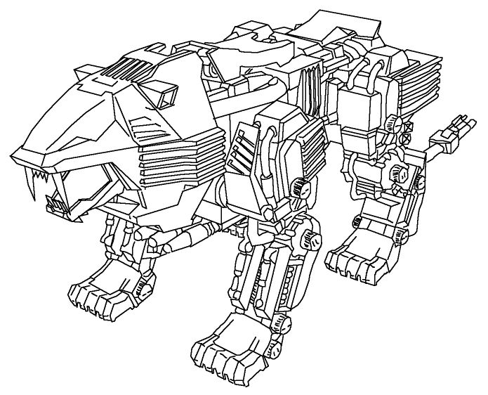 coloring pages zoids-#11