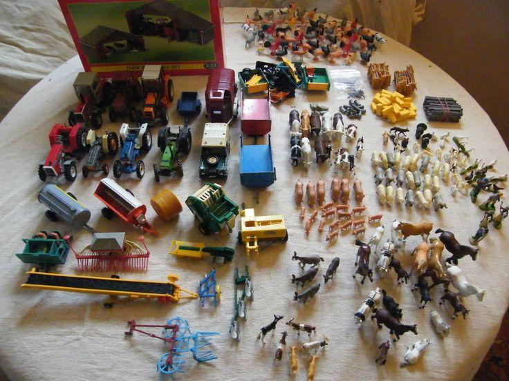 Old britains farm toys