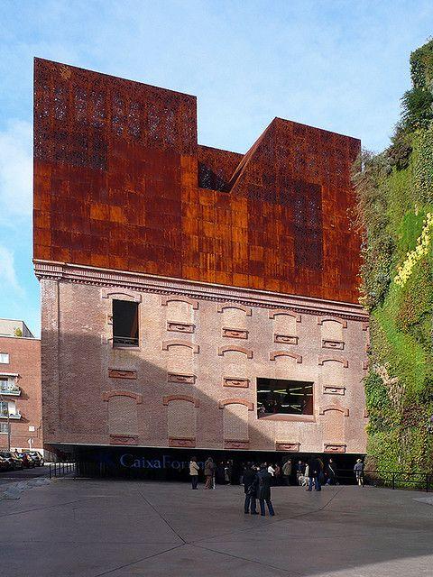 Madrid, Caixa Forum. Herzog & de Meuron by z.z, via Flickr