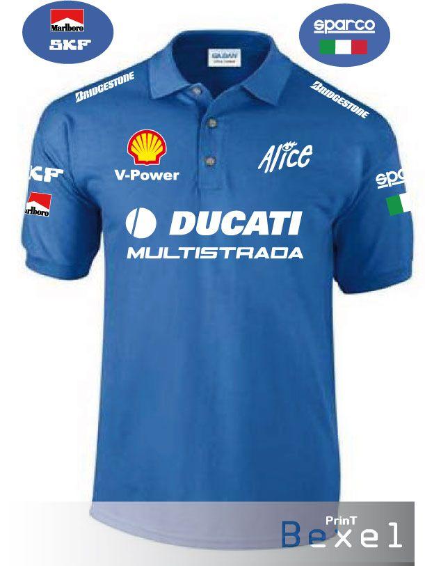 T-Shirt Ducati Multistrada