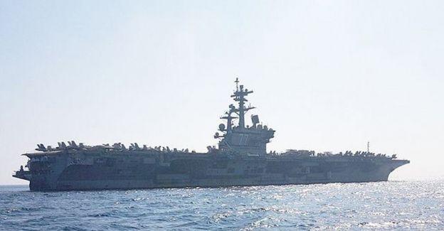 Dünyanın en büyük uçak gemisi İsrail'e geldi