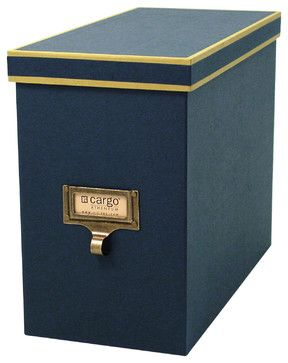 Cargo Atheneum File Box transitional-storage-boxes