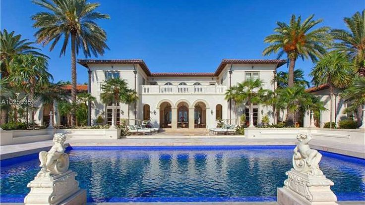 If you're looking for a palatial property in South Florida, but far from the hubbub of Miami, this $45 million mansion in Coral Gables, FL, is for you.