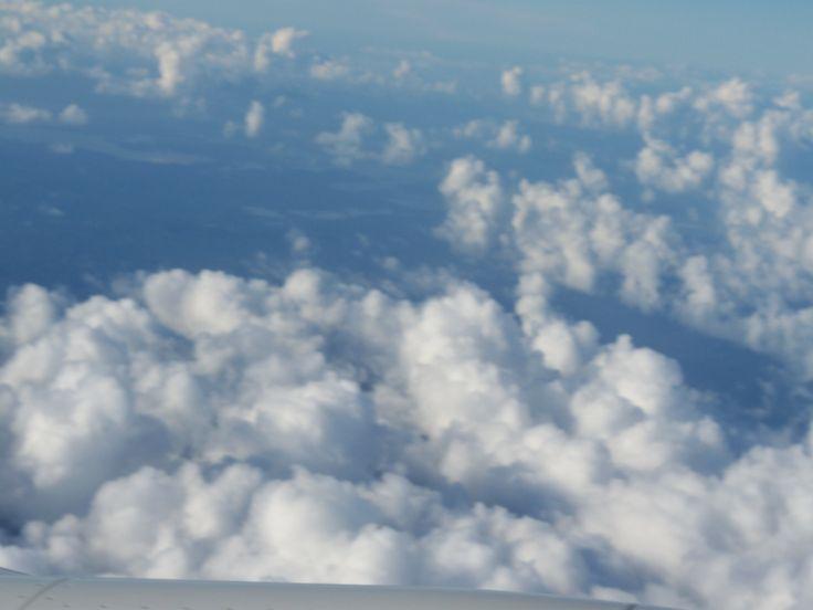 El lago de Maracaibo desde el cielo