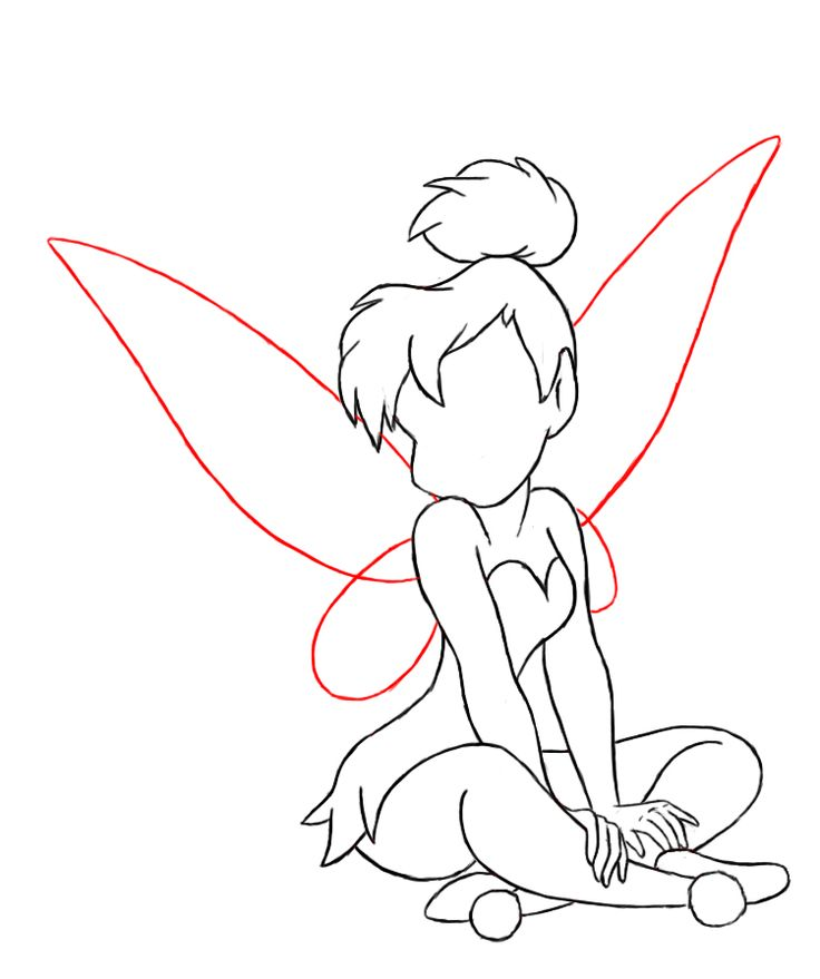 Best 25+ Tinkerbell Drawing Ideas On Pinterest