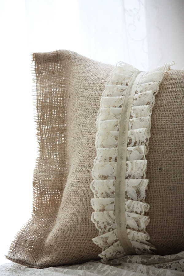 Handmade Accent Pillow.. $65.00 via Etsy.
