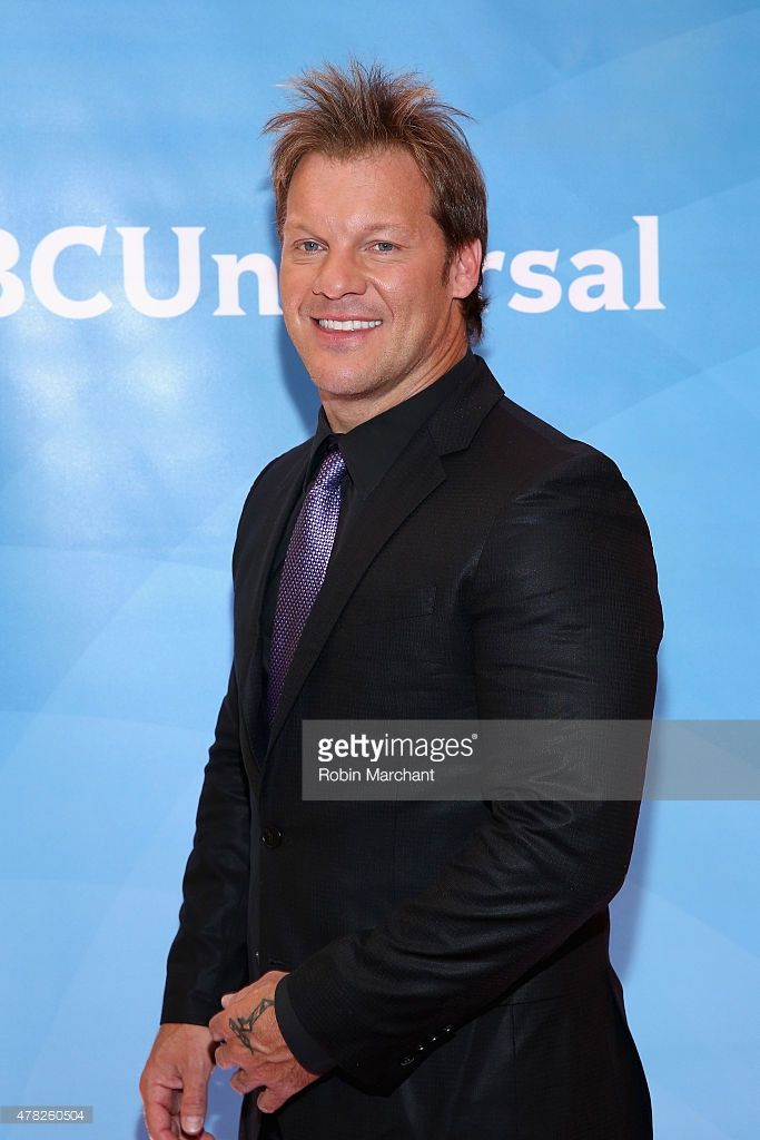 Chris Jericho attends the NBC's 2015 New York Summer Press Day at Four Seasons Hotel New York on June 24, 2015 in New York City.