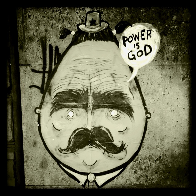 Egg face part two: Power is god. Milan
