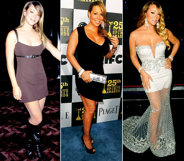 "Mariah Carey Once super slim, Carey gained weight as she got older and then got pregnant with twins Moroccan and Monroe. ""I gained an enormous amount of weight,"" she told Us Weekly of her pregnancy. ""I felt trapped in my body because I couldn't move.""   Read more: http://www.usmagazine.com/celebrity-body/pictures/celebrity-weight-fluctuations-stars-with-ever-changing-bodies-2013177/31670#ixzz2sbDhGa4V  Follow us: @Us Weekly on Twitter 