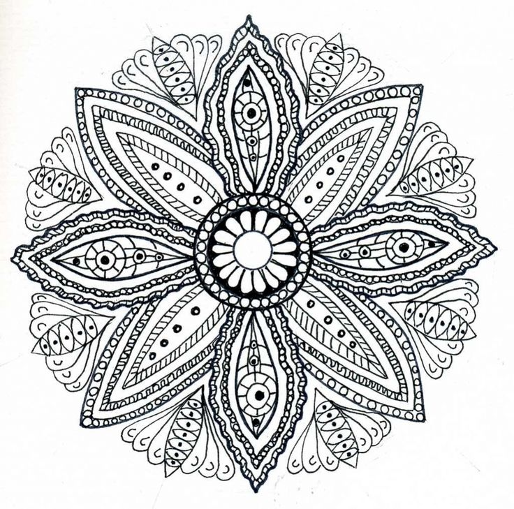 printable coloring pages mandala for adults mandala coloring pages for adults 7