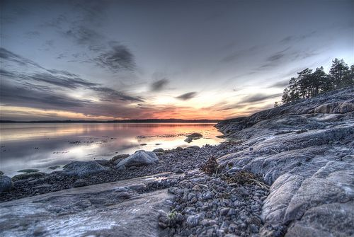 Ångestö in the archipelago of Inkoo, Finland #Finland