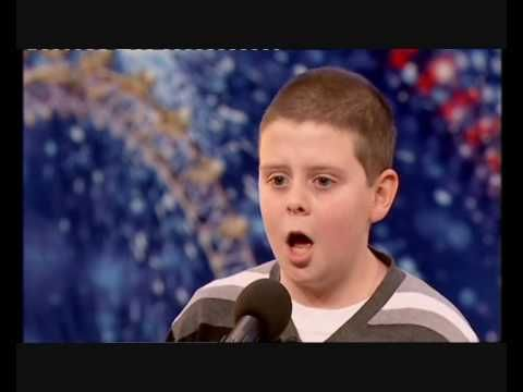 14 year old Liam Mc Nally stuns the audience and judges singing a beautiful rendition of Danny Boy in the 6th week of auditions on Britain's Got talent 2010.