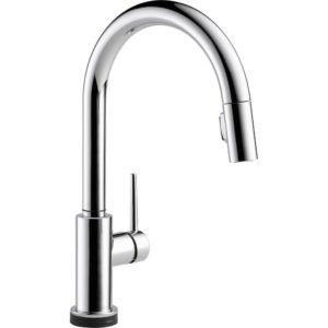 Delta Trinsic Pullout Spray Touch Kitchen Faucet