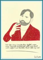 """Acrylbild aus der Ausstellung """"Was ist Liebe?"""" Freidenker Galerie - Bilder mit Sprüchen, lustige Zitate, kluge Sprüche"""