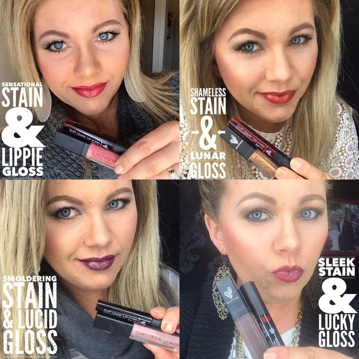 Younique Stiff Upper Lip Stain Amp Lucrative Lip Gloss