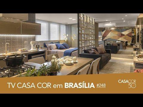 CASACOR Brasília 2016: salas, lavabo, flat e mais no TV CASACOR ao VIVO