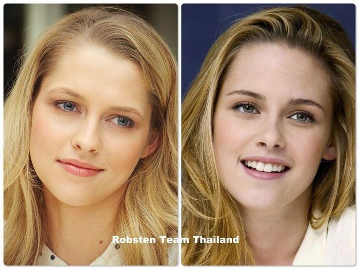Riley Keough And Kristen Stewart Look Alike