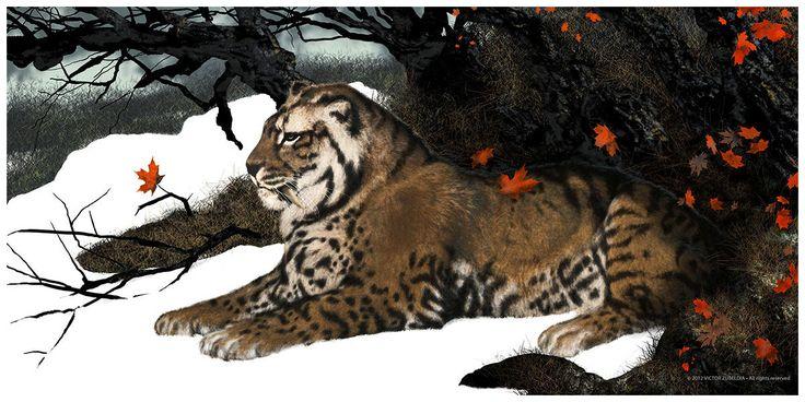 Smilodon Face By Pyroraptor42 On Deviantart: 277 Best Images About Prehistoric Mega Fauna On Pinterest